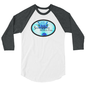 Smooth Waters Logo 3/4 sleeve raglan shirt