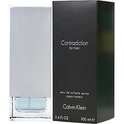 Contradiction By Calvin Klein Edt Spray 3.4 Oz
