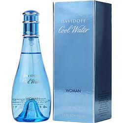 Cool Water By Davidoff Edt Spray 3.4 Oz