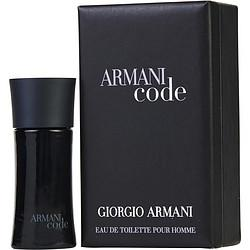 Armani Code By Giorgio Armani Edt .14 Oz Mini