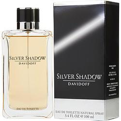 Silver Shadow By Davidoff Edt Spray 3.4 Oz