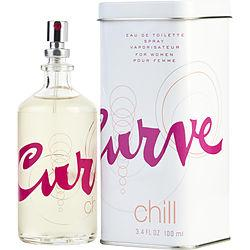 Curve Chill By Liz Claiborne Edt Spray 3.4 Oz