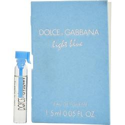 D & G Light Blue By Dolce & Gabbana Edt Vial On Card