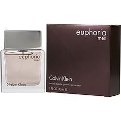 Euphoria Men By Calvin Klein Edt Spray 1 Oz