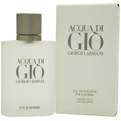 Acqua Di Gio By Giorgio Armani Edt Spray 6.7 Oz (unboxed)