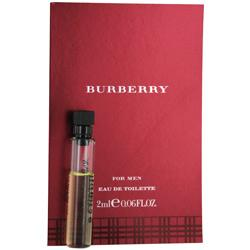 Burberry By Burberry Edt Vial On Card