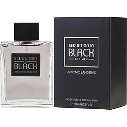 Black Seduction By Antonio Banderas Edt Spray 6.8 Oz