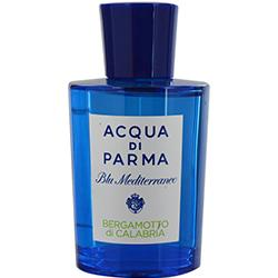 Acqua Di Parma Blue Mediterraneo By Acqua Di Parma Bergamotto Di Calabria Edt Spray 5 Oz *tester