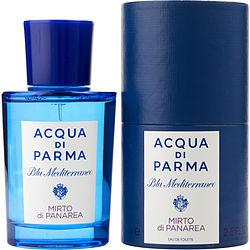 Acqua Di Parma Blue Mediterraneo By Acqua Di Parma Mirto Di Panarea Edt Spray 2.5 Oz