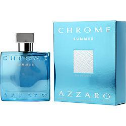 Chrome Summer By Azzaro Edt Spray 1.7 Oz (limited Edition 2012)
