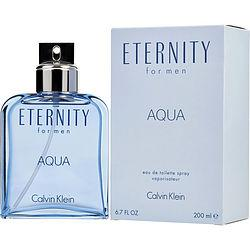 Eternity Aqua By Calvin Klein Edt Spray 6.7 Oz