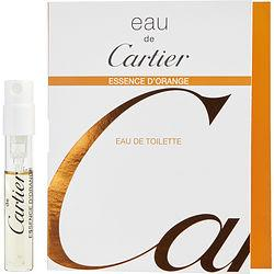 Eau De Cartier Essence D'orange By Cartier Edt Spray Vial On Card