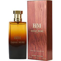 Hanae Mori Him By Hanae Mori Edt Spray 1.7 Oz