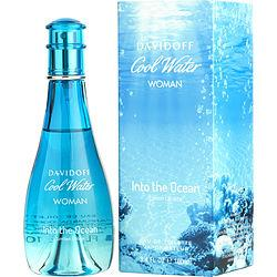 Cool Water Into The Ocean By Davidoff Edt Spray 3.4 Oz (limited Edition)