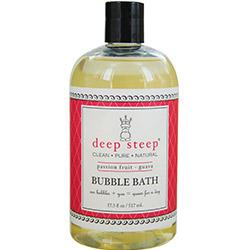 Deep Steep Passionfruit-guava Organic Honey Bubble Bath 17 Oz By Deep Steep