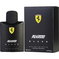 Ferrari Scuderia Black By Ferrari Edt Spray 4.2 Oz