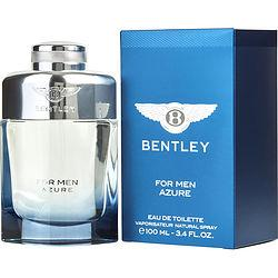 Bentley For Men Azure By Bentley Edt Spray 3.4 Oz