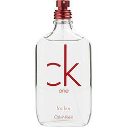 Ck One Red Edition By Calvin Klein Edt Spray 3.4 Oz (limited Edition) *tester