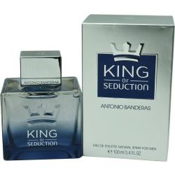 King Of Seduction By Antonio Banderas Edt Spray 3.4 Oz