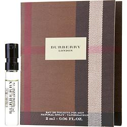 Burberry London By Burberry Edt Spray Vial On Card