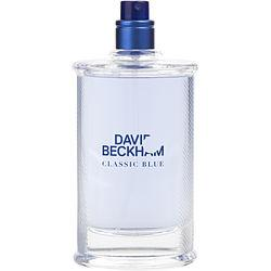 David Beckham Classic Blue By David Beckham Edt Spray 3 Oz *tester