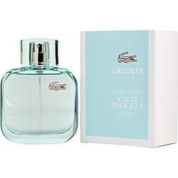Lacoste Eau De Lacoste L.12.12 Pour Elle Natural By Lacoste Edt Spray 3 Oz