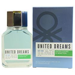 Benetton United Dreams Go Far By Benetton Edt Spray 3.4 Oz