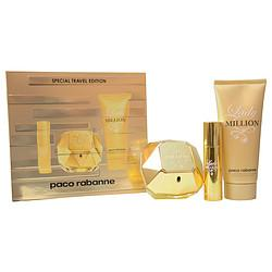 Paco Rabanne Gift Set Paco Rabanne Lady Million By Paco Rabanne