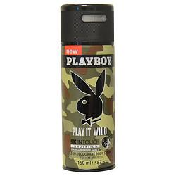 Playboy Play It Wild By Playboy Deodorant Body Spray 5 Oz