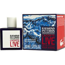 Lacoste Live By Lacoste Edt Spray 3.3 Oz (raymond Pettibon Collector's Edition)