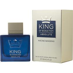 King Of Seduction Absolute By Antonio Banderas Edt Spray 3.4 Oz
