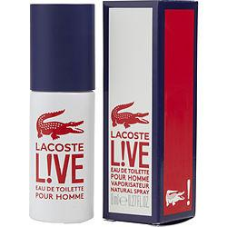 Lacoste Live By Lacoste Edt Spray .27 Oz
