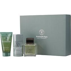Ermenegildo Zegna Acqua Di Bergamotto By Ermenegildo Zegna Edt Spray 3.4 Oz & Hair And Body Wash 2.5 Oz & Deodorant Stick 2.1 Oz