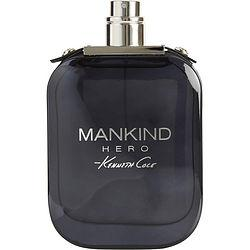 Kenneth Cole Mankind Hero By Kenneth Cole Edt Spray 3.4 Oz *tester