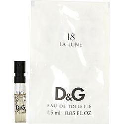 D & G 18 La Lune By Dolce & Gabbana Edt Spray Vial