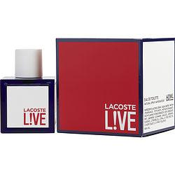 Lacoste Live By Lacoste Edt Spray 2 Oz