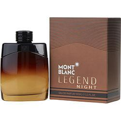 Mont Blanc Legend Night By Mont Blanc Eau De Parfum Spray 3.3 Oz