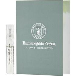 Ermenegildo Zegna Acqua Di Bergamotto By Ermenegildo Zegna Edt Spray Vial On Card
