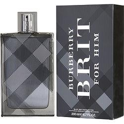 Burberry Brit By Burberry Edt Spray 6.7 Oz (new Packaging)