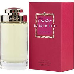 Cartier Baiser Fou By Cartier Eau De Parfum Spray 2.5 Oz
