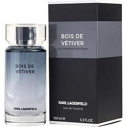Karl Lagerfeld Bois De Vetiver By Karl Lagerfeld Edt Spray 3.3 Oz