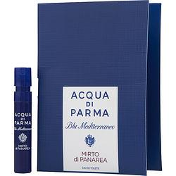Acqua Di Parma Blu Mediterraneo By Acqua Di Parma Mirto Di Panarea Edt Spray Vial