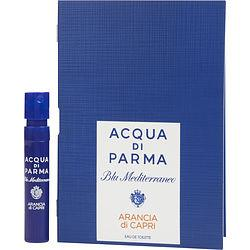 Acqua Di Parma Blue Mediterraneo By Acqua Di Parma Arancia Di Capri Edt Spray Vial
