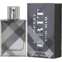 Burberry Brit By Burberry Edt Spray 1.6 Oz (new Packaging)