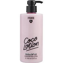 Victoria's Secret Pink Coco Lotion By Victoria's Secret Coconut Oil Body Lotion 14 Oz