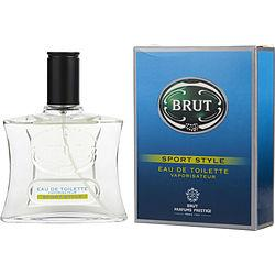 Brut Sport Style By Faberge Edt Spray 3.3 Oz