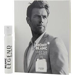 Mont Blanc Legend Spirit By Mont Blanc Eau De Parfum Spray Vial On Card