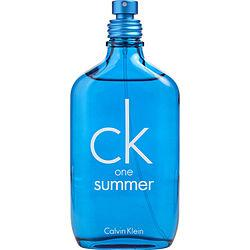 Ck One Summer By Calvin Klein Edt Spray 3.4 Oz (limited Edition 2018) *tester