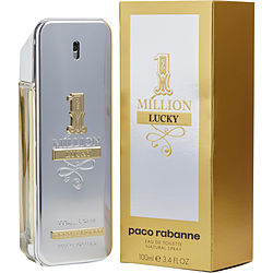 Paco Rabanne 1 Million Lucky By Paco Rabanne Edt Spray 3.4 Oz
