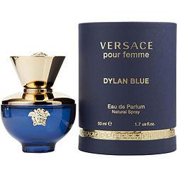 Versace Dylan Blue By Gianni Versace Eau De Parfum Spray 1.7 Oz